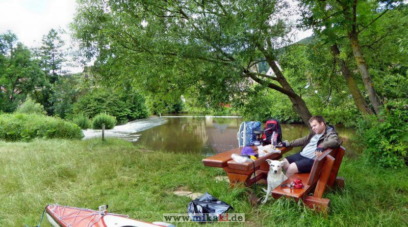 Kanutour auf der Regnitz